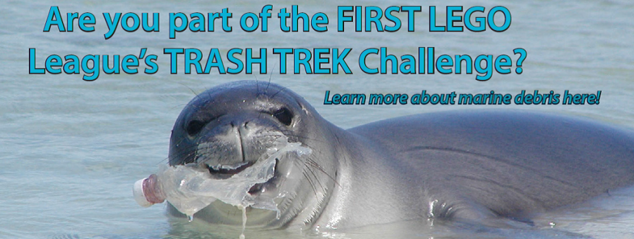 Are you part of the FIRST LEGO League's Trash Trek Challenge? Learn more about marine debris here!