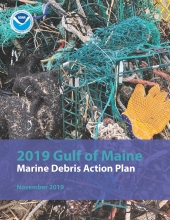 Cover of the Gulf of Maine Marine Debris Action Plan.