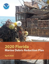 Cover of the 2020 Florida Marine Debris Reduction Plan.