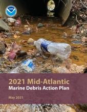 Cover of the 2021 Mid-Atlantic Marine Debris Action Plan.
