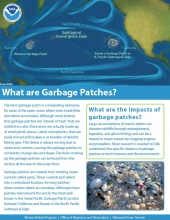 Garbage Patches Fact Sheet.