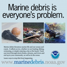 Marine Debris is Everyone's Problem.