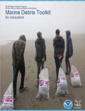 Cover of the Marine Debris Monitoring Toolkit for Educators.
