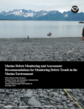 Technical Memo: Marine Debris Monitoring and Assessment Cover.