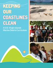 Cover of the U.S. Virgin Islands Marine Debris Curriculum - Keeping Our Coastlines Clean