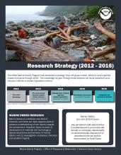 NOAA Marine Debris 2012-2016 Research Strategy.