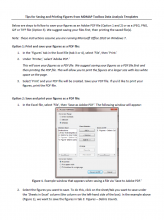Screen shot of first page of the Tips for Saving and Printing Figures document.