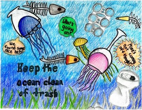 Artwork by Aaron K. (Grade 5, Michigan)