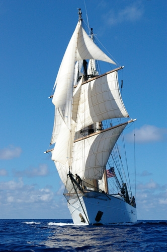 SSV Corwith Cramer (Photo Credit: Sea Education Association/Roman Shor)