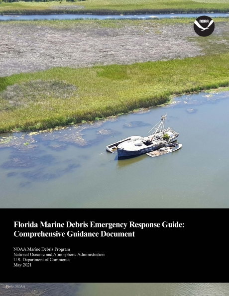 """Cover of the """"Florida Marine Debris Emergency Response Guide: Comprehensive Guidance Document"""" document."""