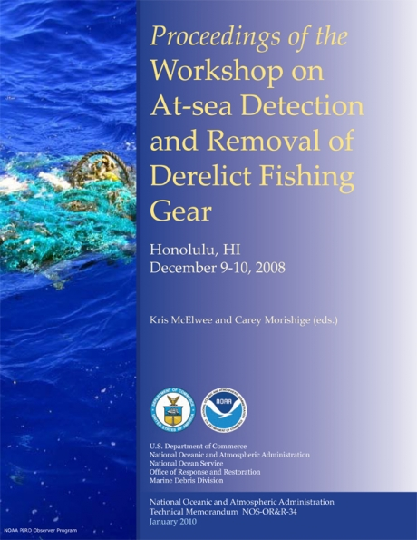 facbdd23f7fc Workshop on At-sea Detection and Removal of Derelict Fishing Gear