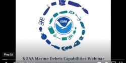 The home slide of a presentation showing the NOAA logo.